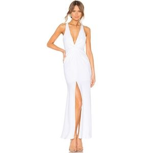 Lovers + Friends White Xael Gown